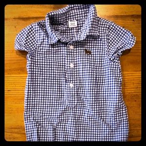 Janie and Jack Boys Romper